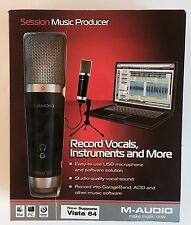 M-Audio Vocal Studio Personal Recording Session Music Producer USB Microphone