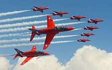 "Red Arrows Canvas Print  A1 30"" x 20"""
