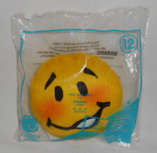 2016 McDonalds EMOJI - TEE HEE HEE Soft Plush Stuffed Happy Meal Toy #12 NEW