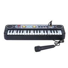 37 Keys Mini Electronic Keyboard with Microphone for Beginners Music Toy 75AP