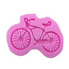 Bicycle Bike Chocolate Peddle Sport Silicone Mould Sugarcraft Cup Cake Crafts