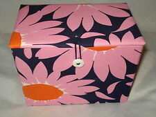 VERA BRADLEY *LOVES ME* STORAGE COUPON BOX AUTHENTIC EXCELLENT RARE SUPER SALE!