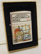 Limited Edition Portobello Road Zippo Lighter .