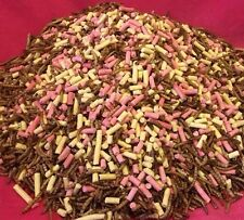 Wild Garden Bird Mix Suet Pellets Mealworms 1kg High Energy Protein Nutritious