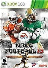 NCAA College Football 13 -  Xbox 360 video game COMPLETE LN * EA Sports