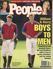 PRINCE WILLIAM & HARRY PEOPLE 2001 MARIAH CAREY BREAKDOWN ANDIE MACDOWELL NICE!