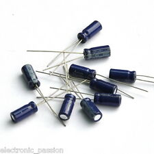 20 PCS OF 470uF 10V Electrolytic Capacitors Daewoo Electronic Components 470u