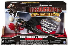 DreamWorks Dragons Die Drachenreiter Figuren Set Drago Toothless Armored Dragon
