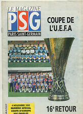 Orig.PRG   UEFA Cup  1992/93   PARIS SAINT GERMAIN - SSC NEAPEL  !!  SELTEN