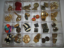 24 PAIRS OF COSTUME JEWELRY - EARRINGS - DISPLAY BOX NOT INCLUDED - LOT 3