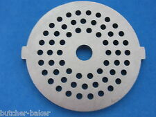 "1/8"" Fine Grind Meat Grinder plate disc die for electric Waring Pro & Oster etc"