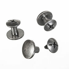 1 Paar Schraub-Nieten - Reparaturset für Buckle-Gürtel