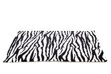 IMPERMEABILE porcellino d'India e piccoli animali Fodera in Pile GABBIA Zebra, Taglia 100x54cm