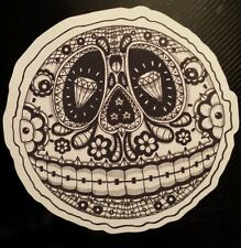 Mexican candy sugar skull day of the dead laptop sticker halloween tablet 206