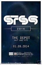 STS9 2014 SALT LAKE CONCERT TOUR POSTER-Sound Tribe Sector Nine,Electronic Music