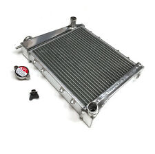 UNIVERSAL KIT CAR TRACK RALLY RACING ALLOY RADIATOR TWIN CORE 260 x 366mm Y3275