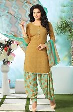 Elegant Crepe Printed Unstitched Dress Material Suit D.No SV1124