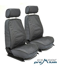 Land Rover Defender Canvas Seat Covers for Elite Mk1 Seats Pair SAND Exmoor Trim