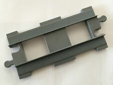 *BRAND NEW* 1 Piece Lego DUPLO STRAIGHT TRAIN TRACK Dark Gray 6377