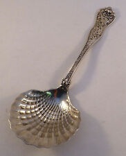 Olympian-Tiffany Sterling Shell Bowl Berry Serving Spoon-8 3/4""