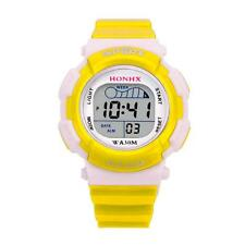 Fashion Children Boys Digital LED Sports Watch Kids Alarm Date Waterproof Watch