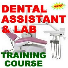 DENTAL ASSISTANT DENTISTRY TRAINING MANUAL COURSE CD