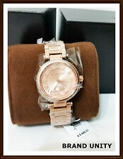 MICHAEL KORS TIMEPIECE Watch Jewellery Brand New with tags RRP $449 ROSEGOLD