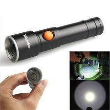 2500 LM 3 Modes CREE XML T6 LED Fit AA Battery Flashlight Lamp Pocket Size Torch