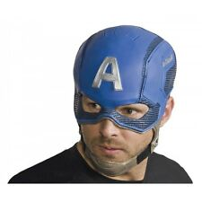 Captain America Mask Adult Costume Cosplay