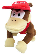 NEW Sanei Super Mario All Star Collection - AC21 - Diddy Kong Stuffed Plush Doll