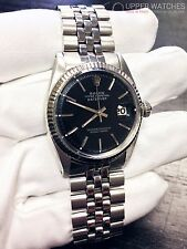 Rolex 1601 Oyster Perpetual  Datejust white Gold & steel 36mm