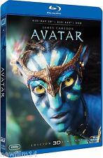 AVATAR 3D EDICION LIMITADA [BLU RAY] NUEVO ( SIN ABRIR ) COMBO BLU RAY + DVD