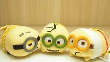 Tsum Tsum minions Kevin Stuart and Bob 3 pcs Ver 2 New with Tag