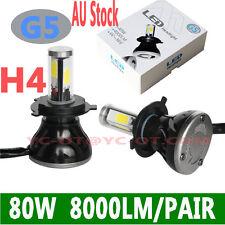 2016 80W 8000lm COB LED H4 HIGH LOW BULB CAR Led HeadLight  LED CONVERSION KIT