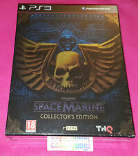 WARHAMMER 40 000 SPACE MARINE COLLECTOR SONY PS3 NEUF VERSION FRANCAISE