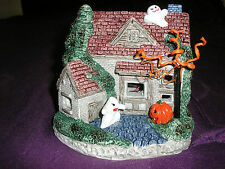 Halloween Ghost Lighted House with Eerie Sound style 2