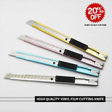 3D Carbon Fiber Vinyl Film Cutting Wrapping Cutter Tools With Blade Snapper