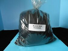 BLACK NYLON FLOCKING,(16 OUNCE BAG)  MADE IN U.S.A. GEESE,DUCK,CROWS,DECOY