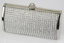 Mini Size Sparkle Diamante Evening Bags Women's Fashion Clutch Wedding Party Bag