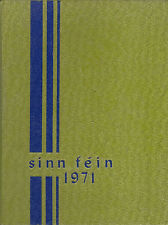 Woodway High School Yearbook 1971 Edmonds, WA  (Sinn Fein)