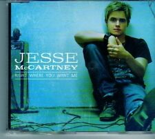 (DO548) Jesse McCartney, Right Where You Want Me - 2006 CD