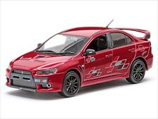 MITSUBISHI LANCER EVOLUTION X 10 RALLIART RED 1/43  MODEL CAR BY VITESSE 29243