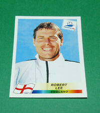 N°472 ROBERT LEE ENGLAND PANINI FOOTBALL FRANCE 98 1998 COUPE MONDE WM