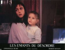 EMMANUELLE BEART LES ENFANTS DU DESORDRE 1989 PHOTO D'EXPLOITATION #6