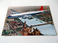 Postcard (BC52) - Hunting-Clan DC-6C over London