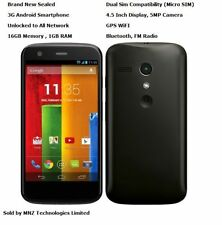 Motorola Moto G XT1033 Doble Sim 3G Android Wifi Gps Desbloqueado Teléfono Inteligente - 16GB