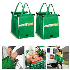 Pack Shopping Bags Eco Foldable Tote Grocery Large Portable Handbags