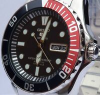 SEIKO 5 SPORTS BRAND NEW MENS AUTOMATIC SUBMARINER 100m WATCH SNZF15K1