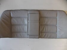BMW E36 Rear Seat Back Dove Gray Leather Armrest OEM 92-98 318 323 325 328