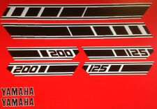 YAMAHA RD125D RD200D RESTORATION DECAL SET 1977